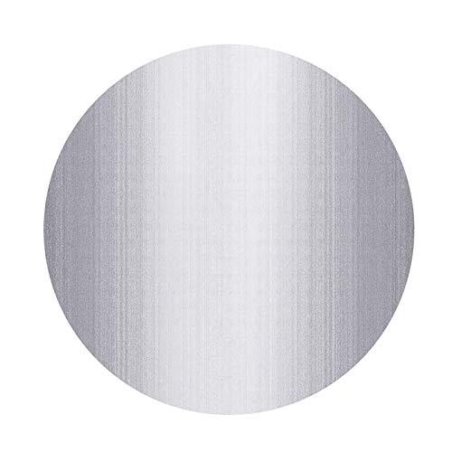 alfombras Oficina Grandes, Superficie De Pelo Corto, Tapete para Silla De Oficina con Fondo Antideslizante, Tapete Circular Resistente A Los Arañazos para Reducir El Rui(Size:200cm/78in,Color:GRAMO)