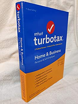 CD-ROM TurboTax 2019 Home & Business Software CD [PC and Mac] [Old Version] Book
