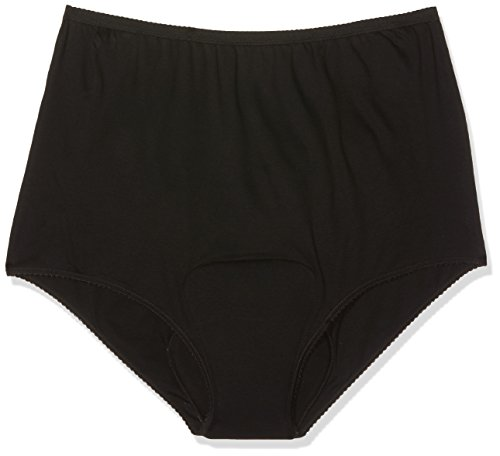 P & S Healthcare 3x große schwarz Damen Super Inkontinenz Slip XXL