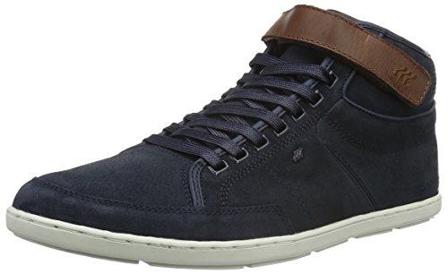 Boxfresh Herren Swich Blok High-Top Sneaker, Blau, 45 EU