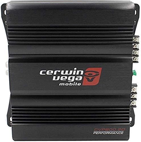 Cerwin-vega Mobile CVP800.2D CVP Series 2-Channel Class-D Amplifier (400W Rms)