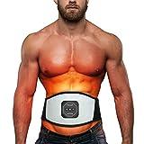 AWIS Faja Reductora Adelgazante Inteligente, Belly Slimming Belt, Alta Frecuencia Vibración, para Hombre Mujer Entrenamiento Muscular Abdominal