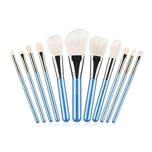Pinceau de maquillage LHY- Vent Blanc carillons 11 pièces de l'ensemble des Outils de Maquillage Brosse Ensemble de Ensemble Complet Envoyer Corps de Brosse Mode