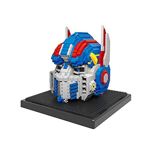 KGAYUC Bloques De Construcción para Niños, Robot Personaje Nano Micro Blocks 3D Puzzle DIY Juguetes Modelo Ladrillo Juguete, Nano-Mini Building Blocks DIY Juguetes, Adecuado para Niños (1927 Piezas)
