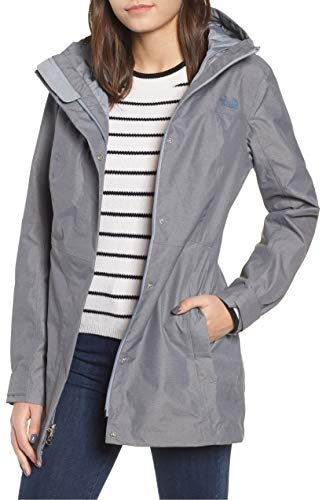 The North Face Women's City Midi Trench - TNF Medium Grey Heather - M