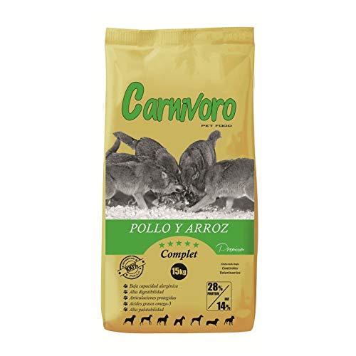 Carnivoro Compleet kip rijst 15 kg