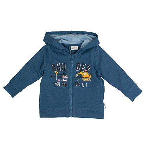 SALT AND PEPPER Salt & Pepper Baby-Jungen B Jacket Just Cool Builder Jacke, Blau (Storm Blue Melange 479), 92
