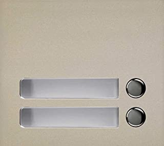 Aiphone GF-2P Two Call Button Panel for the GF and GT Series Modular Multi-Tenant Entry Security System