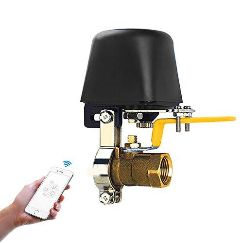 Creechwa - Válvula inteligente de control con WIFI, válvula de agua compatible con Alexa, Google y aplicaciones para iOS/Android