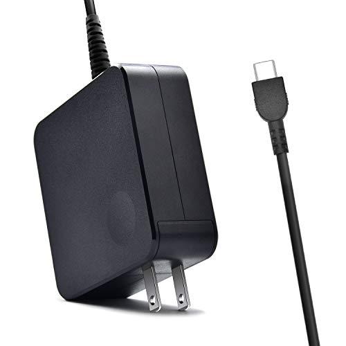 ThinkPad Yoga USB-C Laptop Charger 65W Power Supply Standard AC Adapter for Lenovo Yoga C930-13, Yoga S730-13, Yoga 920-13, Yoga 730-13, IdeaPad 730s-13, GX20P92530 Laptop Charger