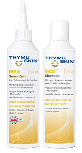 Thymuskin Med Set (1 X 200ml Shampoo + 1 X 200ml Serum Gel)