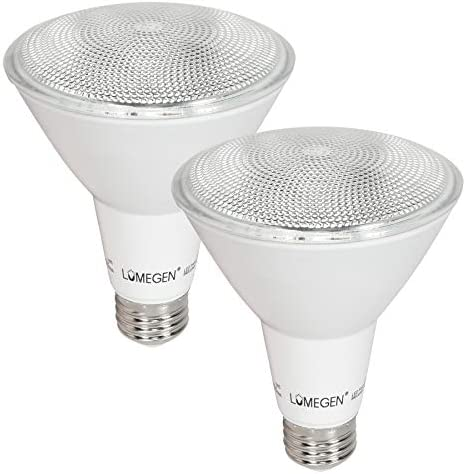 2 Pack LED PAR30 Long Neck 12 Watt 75W Equiv Dimmable 840 Lumens Wet Rated 4000K product image