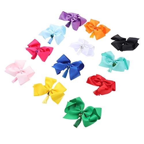 Lurrose Modische Haarspangen mit Schleife, Haarschmuck, Haarnadeln für Mädchen, Kinder, Kleinkinder, Teenager, Kinder