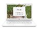 HP 14in Celeron N3350 4GB SDRAM 32GB eMMC Chromebook Snow White (Renewed)