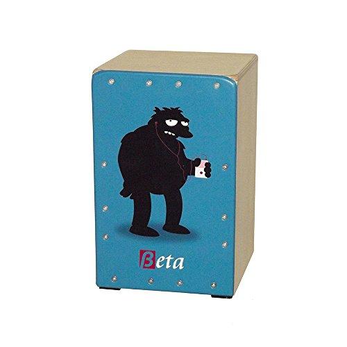 Cajón flamenco Beta mod \'BARNEY\' - Tamaño mini para niños. Caja de percusión en abedul