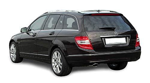 Solarplexius Auto-Sonnenschutz Scheiben-Tönung passgenau für Mercedes C Klasse Kombi S204 Bj. 07-14 Keine Folie Komplettsatz