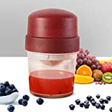 ETE ETMATE Citrus Manual Juicer, Portable Small Lemon Hand Squeezer, Fruit Juice Maker for Tangerines Grapefruit Orange Grape