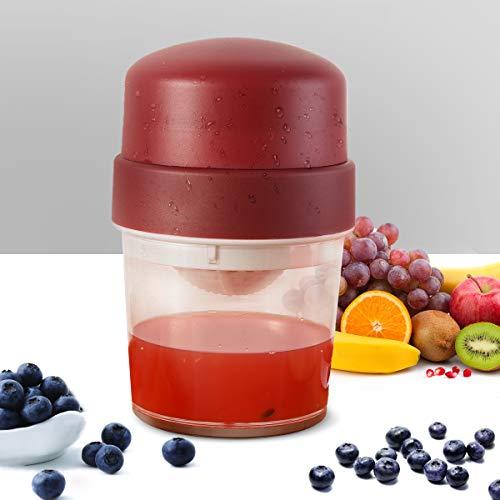 ETE ETMATE Citrus Manual Juicer, Portable Small Lemon Hand Squeezer, Fruit Juice Maker for Tangerines Grapefruit Orange Grape
