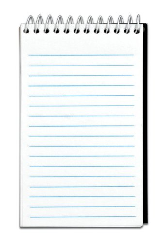 TOPS Top Wire Memo Book, 3x 5 Inches, Narrow Rule, 50 Sheets, 12-Pack, White, (8050)