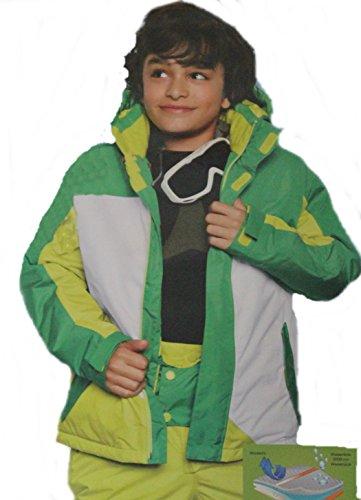 Robuste Crivit Sports Jungen Snowboard / Ski-jacke (Skijacke Jungen) Wassersäule des Obermaterials 3.000 mm Größe 146/ 152