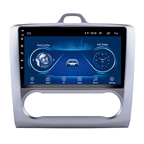 Android 10.0 8 Core Car stereo radio de navegación por satélite FM AM Autoradio 2.5D Pantalla táctil para Ford FOCUS 2006-2014 Navegador GPS Bluetooth WIFI GPS USB SD player(Color:4G+WIFI 2G+32G)