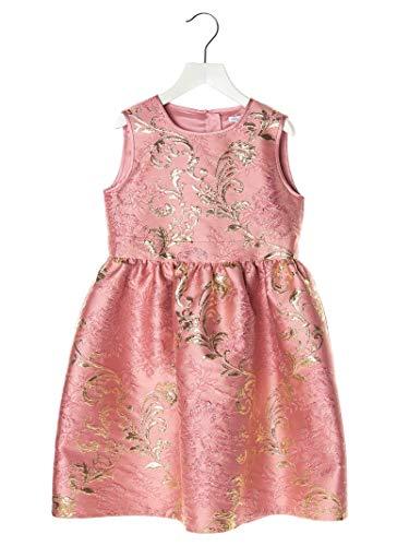 DOLCE E GABBANA Luxury Fashion Mädchen L52DB7HJMJNF0663 Rosa Seide Kleid   Frühling Sommer 20