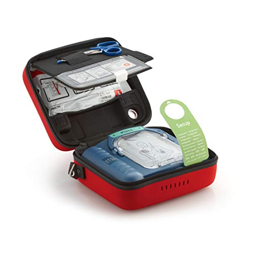 Philips HeartStart OnSite AED Defibrillator with Ready-Pack, (Model: M5066A-RO1)