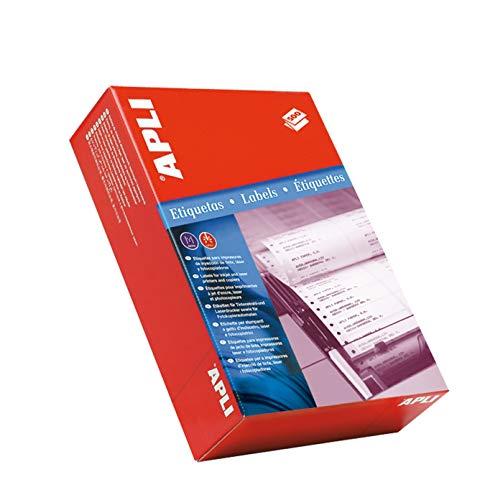 APLI 27-Etiquetas en continuo 101,6 x 36,0 mm - 3 500 hojas