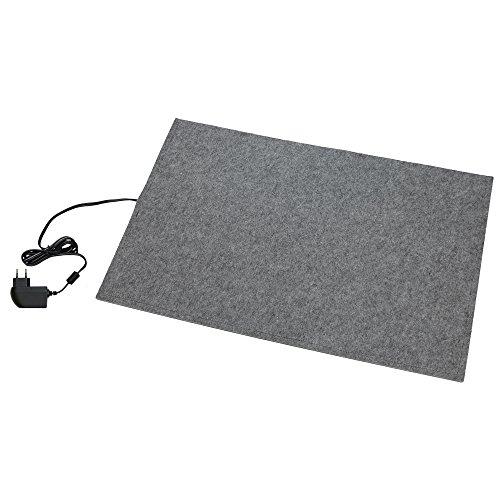 thermodog Liegematte, Filz-Teppich, 400x600mm, 12V / 20W, Steckernetzteil
