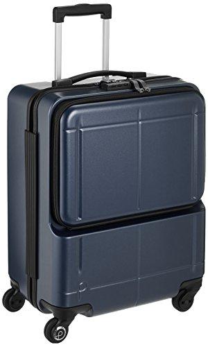 [プロテカ] スーツケース 日本製 マックスパスH2s サイレントキャスター 機内持ち込み可 保証付 40L 46 cm 3.3kg ブルーグレー