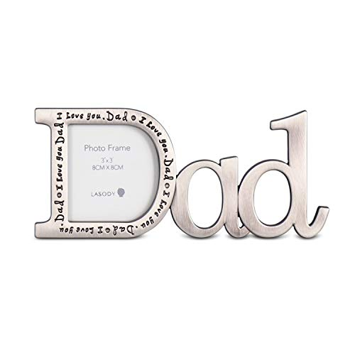 LASODY DAD Picture Frame-DAD Gifts/DAD Gifts from Daughter/DAD Birthday Gifts
