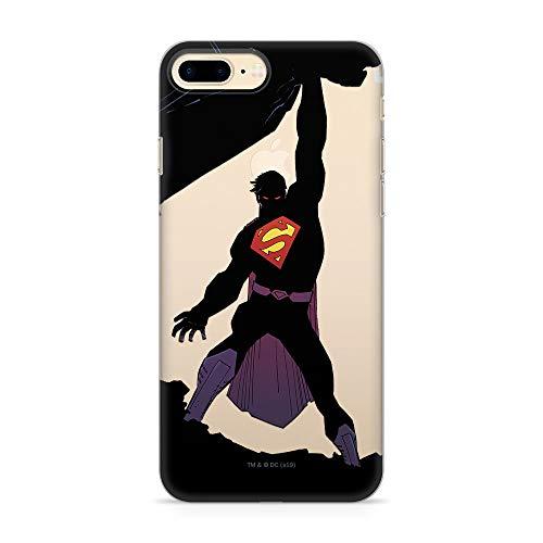 ERT GroupWPCSMAN4965 Cubierta del Teléfono Móvil, Superman 008 iPhone 7 Plus/ 8 Plus
