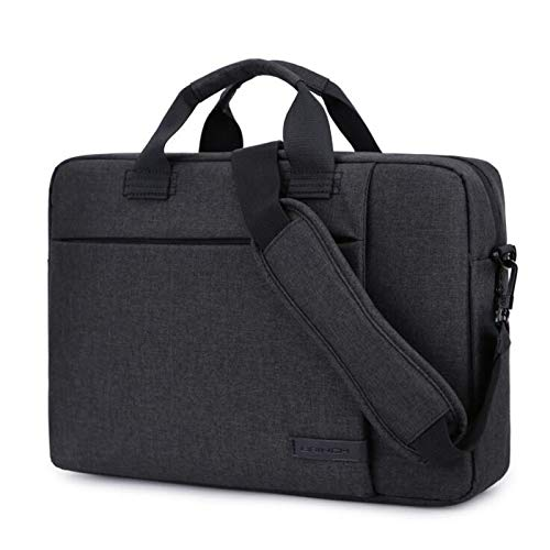 GHC PAD Cases & Covers For Macbook 13 14 15 13.3 15.6 inch, Women Men Casual Handbag Sleeve Laptop Bags Shoulder Portable Tablet Bag for lenovo (Color : Black, Size : 13 inch)