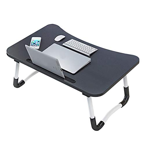 JEI-MEN Laptop Desk, Portable Laptop Bed Tray Table, Notebook Stand Reading Holder, Couch Table, Bed Desk with Handle for Reading Book, Watching Movie on Bed/Couch