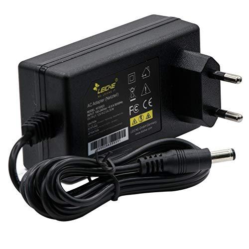 LEICKE Netzteil 12V 2,5A 30W   5,5 * 2,5mm Stecker   baugleich 311P0W091 für AVM Fritzbox 7490 und 6490 etc, Speedport, Ladegerät LCD TFT Monitor, Soundlink, Festplatten