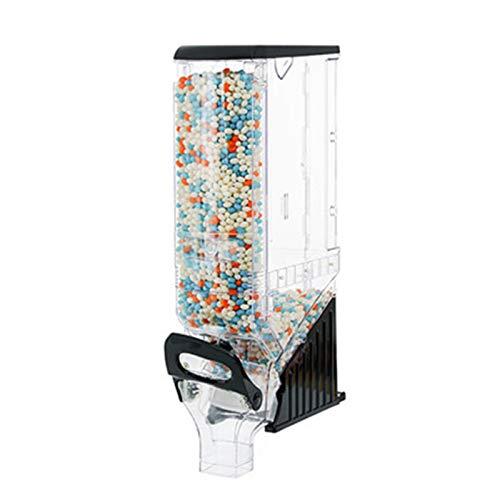 Dispensador de Cereales Dispensador De Alimentos Secos Montado En Pared Almacenamiento De Plástico Almacenamiento De Cocina para Cereales Y Frijoles para Cocina Casera