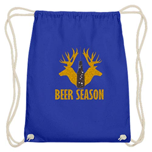 Beer Season Deer Jäger Oktoberfest München Bayern Festzelt Outfit Biertisch Design - Baumwoll Gymsac