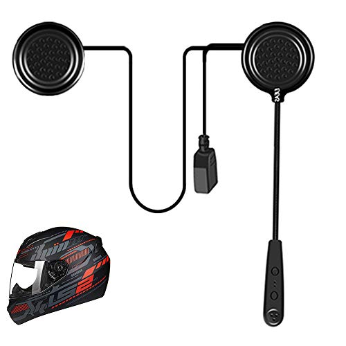 EJEAS Motorcycle Helmet Bluetooth 4.1 Headset E1 Intercom Speakers Headphones Communication Systems Handsfree Calls for Motorbike Skiing