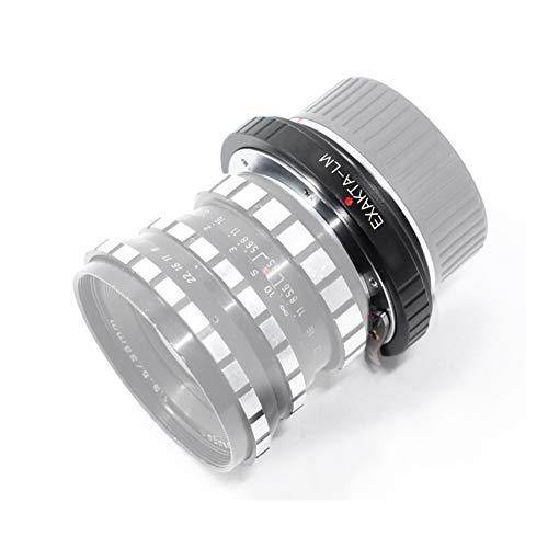 Topiky EXA-LM Adapterring für EXAKTA Objektive für Leica L/M M9/8/7/6/5 Kameras für TECHART LM-EA7, Premium Fotografiezubehör aus Aluminium