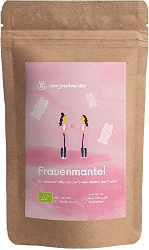 teegeschwister® | BIO Frauenmanteltee | gehobene Qualität aus der EU | frei von Zusätzen und Aromastoffen | geeignet vor der Schwangerschaft