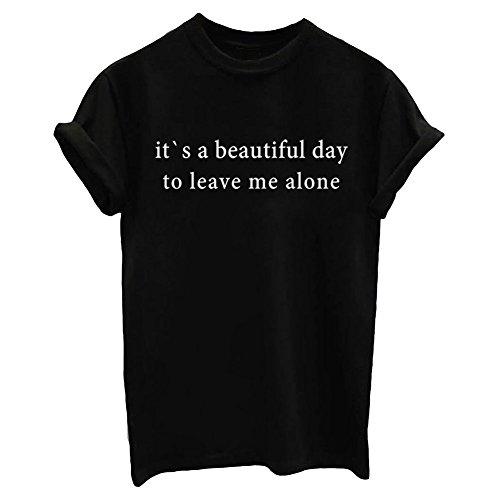 YITAN Summer Women T Shirt Graphic Funny Tees Fashionable...