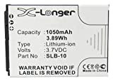 Synergy Digital Replacement Battery, Works with Trust SLB-10 Replacement, (Li-Ion, 3.7V, 1050 mAh) Ultra High Capacity Battery