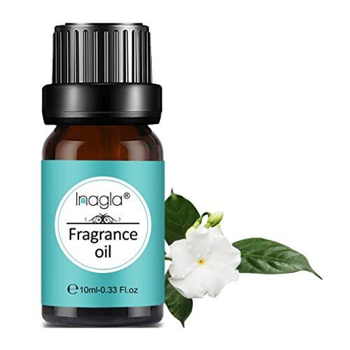 Inagla Aceites de Fragancia, Aceites de Aromaterapia, Aceites Esenciales para Humidificadores de Gardenia 10ML