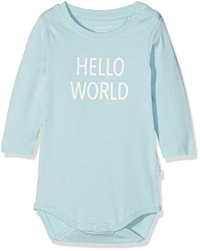 NAME IT Nbndelufido LS Body Noos Polaina, Azul (Canal Blue), 50 para Bebés