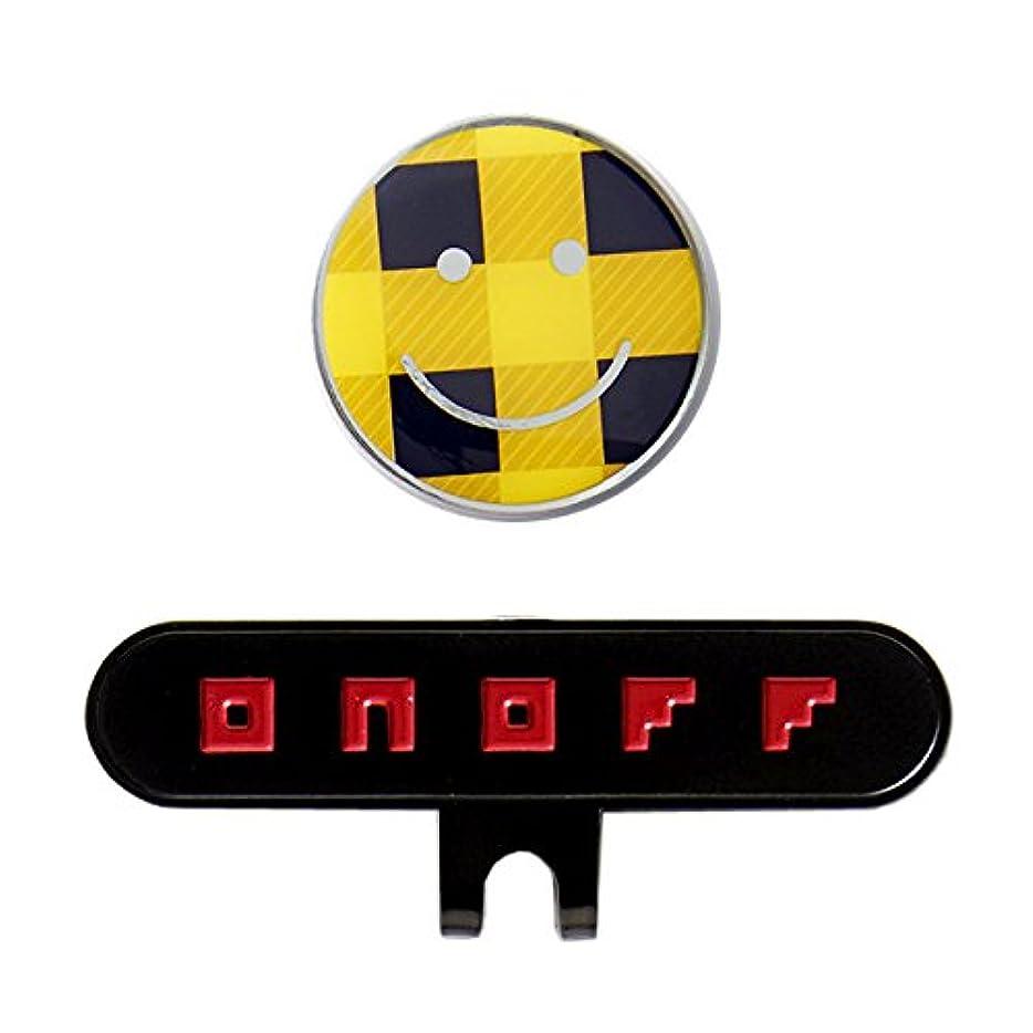 計画ぶどう経歴GLOBERIDE(グローブライド) グリーンマーカー ONOFF ボールマーカー ユニセックス OQ0917-26YEL イエロー