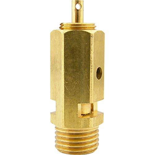Messing Sicherheitsventile einstellbar (nicht bauteilgeprüft) Kessel Druckluft Überdruckventile (Gewindegröße: G 1/4