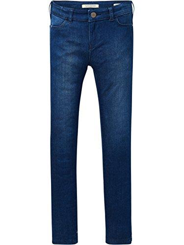 Scotch & Soda R´Belle La Milou-Midday Jeans, Blu (Middle 2285), 116 Bambina