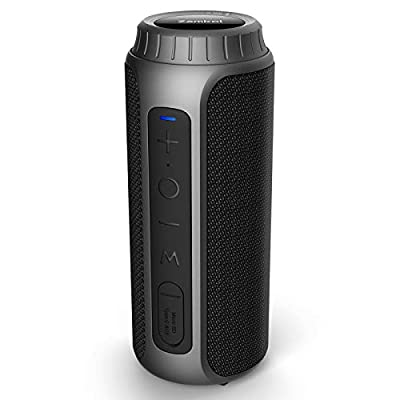 Bluetooth Speaker, Zamkol Portable Wireless Bluetooth Speaker with 30W Stereo Sound Enhanced Bass, 10 Hour Playtime, 66ft Bluetooth Range, Noise-Cancelling Microphone, Speaker for Party, Travel, Sport by Zamkol