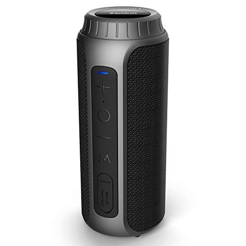 Bluetooth Speaker, Zamkol Portable Wireless Bluetooth Speaker with 30W...