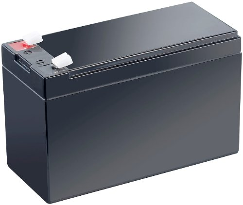 revolt Akku 12V: Wartungsfreie Blei-Akku-Batterie mit 12 V, 7,2 Ah, Flachstecker 4,8 mm (Batterie 12V)
